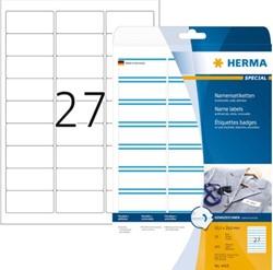 Badge etiket Herma 4419 bedrukbaar 63.5x29.6mm 675stuks
