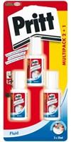 Correctievloeistof Pritt Correct-it 20ml 2+1 gratis blister-1