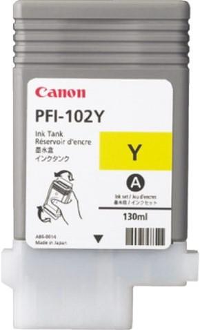 Inktcartridge Canon PFI-102 geel