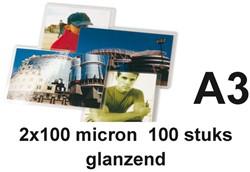 Lamineerhoes GBC A3 2x100micron 100stuks