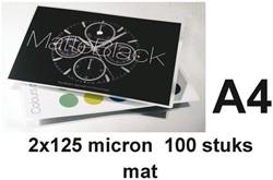 Lamineerhoes GBC A4 2x125micron mat 100stuks