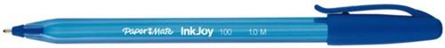 Balpen Paper Mate Inkjoy 100 blauw medium 80+20 gratis-2