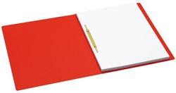 Snelhechter Jalema Secolor met strip en dekplaat A4 rood