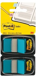 Indextabs 3M Post-it 6802BLU 2 stuks blauw