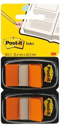 Indextabs 3M Post-it 6802ORA 2 stuks oranje