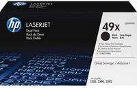 Tonercartridge HP Q5949XD 49X zwart 2x HC