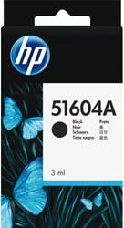 Inkcartridge HP 51604A zwart