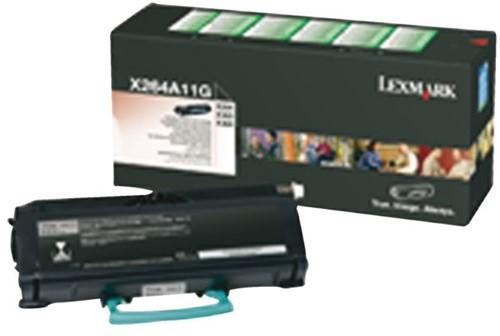 Tonercartridge Lexmark X264A11G prebate zwart