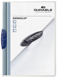 Klemmap Durable 2260 swingclip blauw