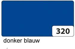 Etalagekarton folia 48x68cm 400gr nr320 donkerblauw