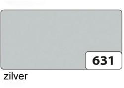 Etalagekarton folia 48x68cm 400gr nr631 zilver