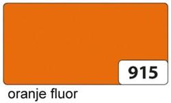 Etalagekarton folia 48x68cm 400gr nr915 fluor oranje