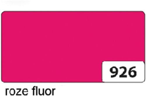 Etalagekarton folia 48x68cm 380gr nr926 fluor roze