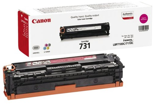 Tonercartridge Canon 731 zwart