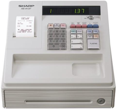 Kassa Sharp XE-A137WH wit-3