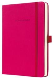Notitieboek Conceptum CO572 95x150mm roze lijn