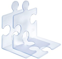 Boekensteun Han 9212 Puzzle Signal lichtblauw