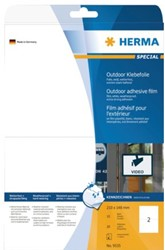 Etiket Herma 9535 210x148mm A5 polyester wit 20stuks