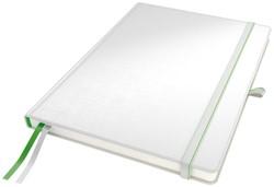 """Notitieboek Leitz Complete hardcover iPad 10"""" gelinieerd wit"""