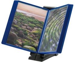Infomanager Flex-O-Frame basis met 10-tassen antraciet/blauw