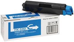Toner Kyocera TK-590C blauw