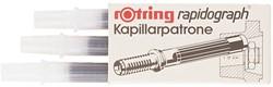 Inktpatroon Rotring kapillair 590517 zwart