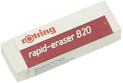 Gum Rotring B20 potlood 65x23x10mm wit