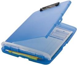 Klembordkoffer Oic 53322 kunststof kopklem blauw