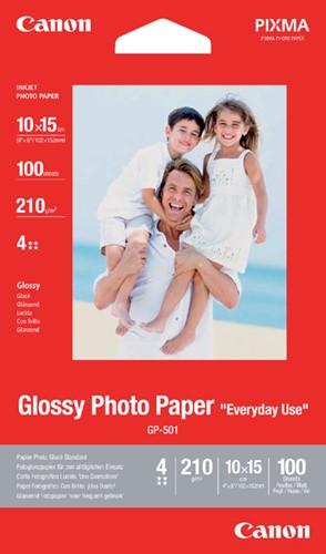 Inkjetpapier Canon GP-501 10x15cm 210gr glans 100vel