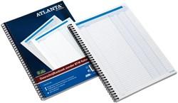 Doorschrijfkasboek Atlanta 2541401100 A4 50x2vel zonder BTW