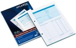 Bestelformulier Atlanta A5 50X2vel met carbon