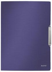 3-klepsmap Leitz Style A4 PP titaniumblauw