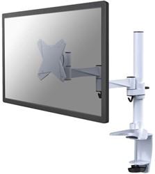 """monitorarm Newstar D1330 10-30"""" met klem  wit"""