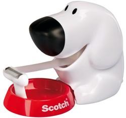 Plakbandhouder Scotch C31 hond + 1rol 19mmx7.5m
