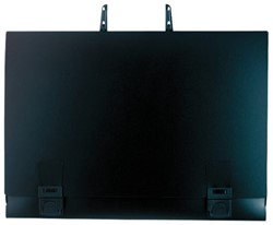 Tekenportefeuille A2 52x71cm PP zwart