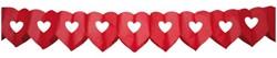 Slinger Folat dubbel hart rood 6meter