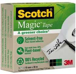 Onzichtbaar plakband Scotch Magic 900 19mmx30m