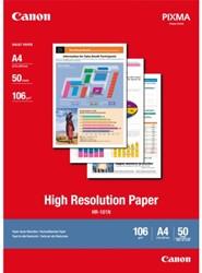 Inkjetpapier Canon HR101 A4 106gr 50vel