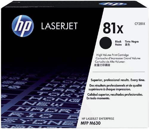 Tonercartridge HP CF281X 81X zwart HC