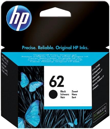Inktcartridge HP C2P04AE 62 zwart