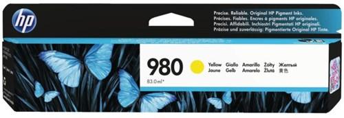 Inktcartridge HP D8J09A 980A geel