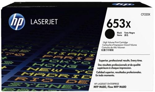Tonercartridge HP CF320X 653X zwart HC