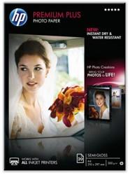 Inkjetpapier HP CR672A A4 semi glossy 300gr 20vel