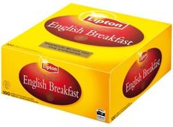 Thee Lipton Breakfast label zonder envelop 100stuks
