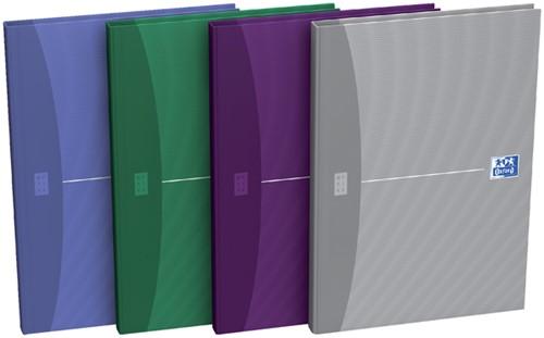 Notitieboek Oxford Essentials A4 96vel lijn assorti