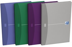 Notitieboek Oxford Essentials A5 96vel gelinieerd assorti
