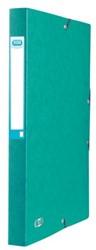 Elastobox Elba A4 25mm met rugetiket groen