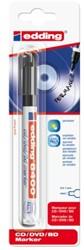 Cd marker edding 8400 rond zwart 0.5-1.0mm blister