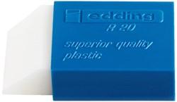 Gum edding R20 45x24x10mm kunststof wit met blauwe houder
