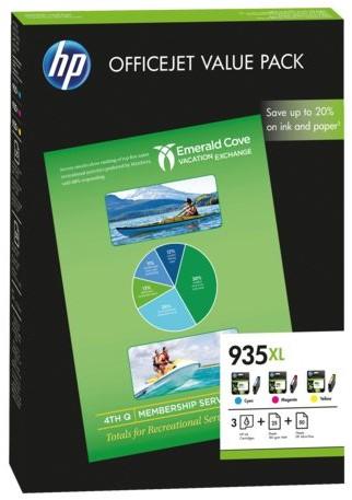 Inktcartridge HP F6U78AE 935XL 3 kleuren HC